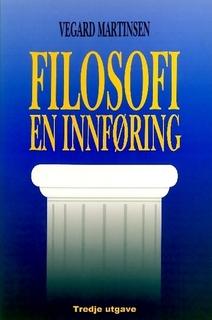 Omslaget til boken ``Filosofi: en innføring``