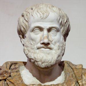 Byste av Aristoteles