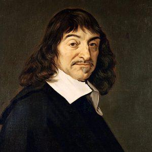Maleri av René Descartes.