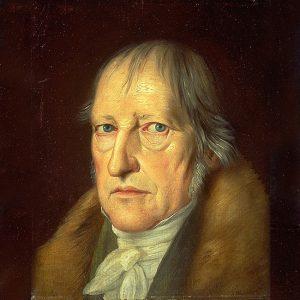 Maleri av Georg W.F. Hegel.