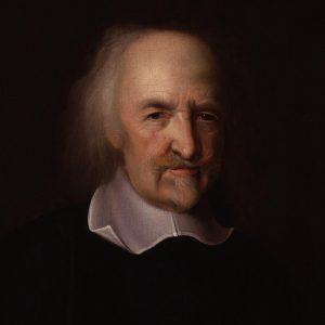 Maleri av Thomas Hobbes.