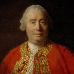 Maleri av David Hume.