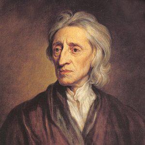 Maleri av John Locke.