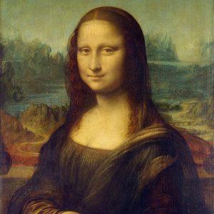 Maleriet Mona Lisa av Leonardo da Vinci.